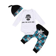 Join The Cute Side Baby Outfit