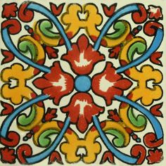 Traditional Mexican Tile - Linaria