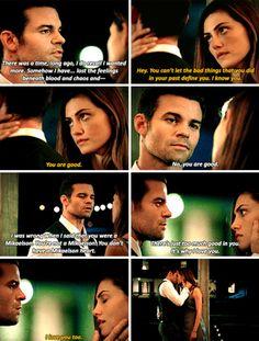 The Originals 4x03: Elijah and Hayley | Ahh Elijah always uses the best words like SWOON #Haylijah
