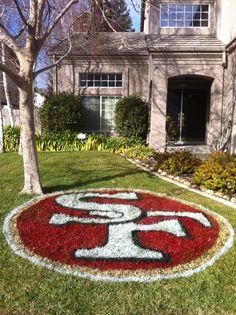 I love the San Francisco 49ers!!!