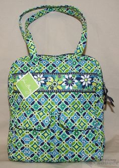 54c52e408a Tall Zip Tote in Daisy Daisy. Allison Cusher · Vera Bradley Love