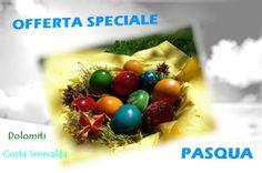 A Pasqua scegli le Dolomiti o la Sardegna in Costa Smeralda! (Click» http://www.clubres.com/news/?p=554) A Pasqua scegli leDolomiti.. le giornate si allungano, il sole riscalda l'atmosfera e tutto si risveglia. Aria fresca,frizzantina,tiepido caldo e voglia dinuoveemozioni.. Paesaggi mozzafiato, verdi prati e tanto relax Lasciati coccolare…  PASQUA IN.. VAL DI FIEMME CENTRO VACANZE VERONZA  2 giorni in hotel_mezza_pensione a partire da€ 99�