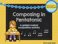 My most downloaded file of all time! A guided musical composition activity for the pentatonic scale.