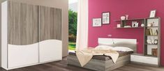 set mobilier dormitor modern pal alb maro amenajare dormitor cu stil