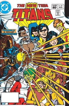New Teen Titans (1980-1988) #34