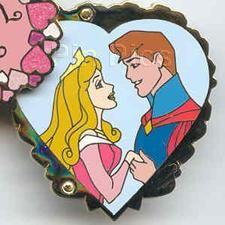 Pin 18961: WDW - Sweetheart Series (Aurora & Phillip) Hinged
