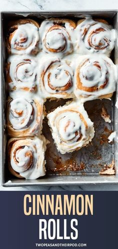 These homemade cinnamon rolls are the BEST! Everyone that makes them falls in love! They are great for breakfast, brunch, and holidays. Best Cinnamon Roll Recipe, Sweet Roll Recipe, Best Cinnamon Rolls, Cinnamon Recipes, Baking Recipes, Pastry Recipes, Yummy Treats, Sweet Treats, Yummy Food