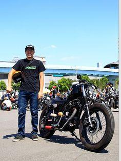 2006年式 カワサキ 250TR ストリートスナップ ケンさん【STREET-RIDE】ストリートバイク ウェブマガジン