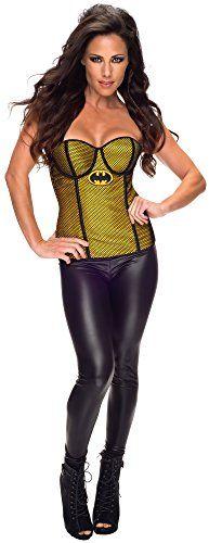 Rubie's Costume Women's DC Comics Batgirl Corset with Fishnet Overlay, Black/Yellow, Medium Rubie's Costume Co http://www.amazon.com/dp/B00L3HWCIW/ref=cm_sw_r_pi_dp_eLQovb10X3VBZ