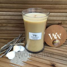 at the beach woodwick candle large 22oz available from twofivefive.co.uk