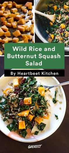 5. Wild Rice and Butternut Squash Salad With Maple Balsamic Dressing #greatist http://greatist.com/eat/vegetable-side-dishes-for-the-holidays