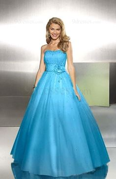 Modest Backless A-line Sleeveless Sequined Flower Prom Dress