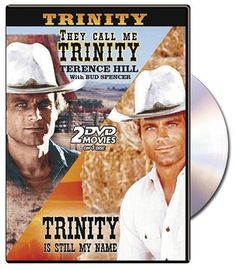 They call Me Trinity/trinity is Still my Name, Starring Terence hill and Bud Spencer. Slapstick spaghetti western hilarity! I saw these in theaters as a child and truly enjoy having this DVD.