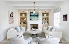 Cozy traditional style white and beige living room decor with restoration hardware style sofas #interiordesign #interiordesigner #interiordesign2020 #decor #furniture #sofa #sectional #living room #livingroom décor #realestate #luxuryhome #luxurylifestyle #luxuryfurniture #customfurniture #customsofa #transitional #interiordesignideas Custom Sofa, Custom Furniture, Luxury Furniture, Beige Living Rooms, Living Room Decor Traditional, Upholstered Sofa, Space Furniture, Best Interior Design, Restoration Hardware