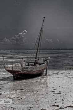 fishing boat on Zanzibar by edgar0209. Please Like http://fb.me/go4photos and Follow @go4fotos Thank You. :-)