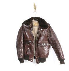 vintage #schott aviator jacket