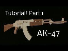 Tutorial! AK 47 Part 1 [rubber band gun] - YouTube
