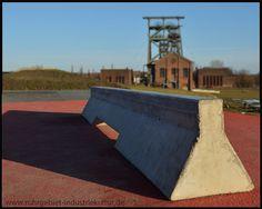 Skaterpark an der Zeche Gneisenau in Derne