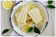 Dulce De Leche Lemon Popsicles