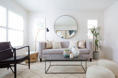 Newlyweds Cynthia and Joseph Chang just bought their new (and first) home in Orange County, so they called in Homepolish's Lada Webster to see if she could take an old 1999 home into a clean slate 2016 look.