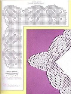Мини-журнал: Croche - Barrados com Cantos 2006,2008 - Вяжем сети - ТВОРЧЕСТВО РУК - Каталог статей - ЛИНИИ ЖИЗНИ