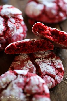 Red Velvet Gooey Butter Cookies || All the Gooey Cookies Forever and Always