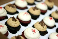 Mocha and Redvelvet cupcakes