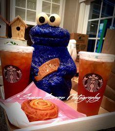 Ice Tea and Morning Bun