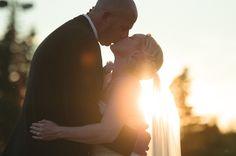 Wedding Photographer – Kenyon Wedding #sunset #firstdance #inspiration #bridal #bride #groom #wedding #photography #light #magic