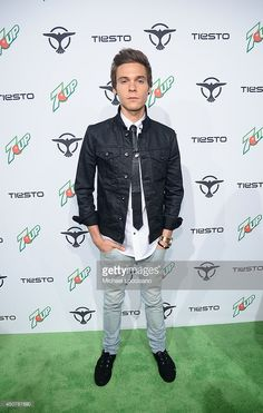 Singer, songwriter Matthew Koma attends 7UP Presents Tiesto's 'A Town Called Paradise' album release celebration, at Terminal 5 on June 17, 2014 in New York City.