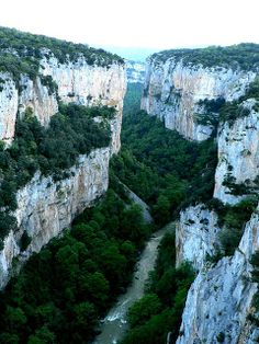 la foz de Arbayún  Navarra  Spain