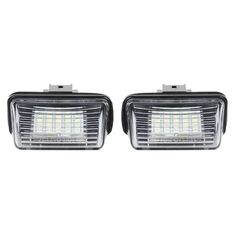 11.11$  Watch here - http://ali0sk.shopchina.info/1/go.php?t=32700921932 - B35 1 Pair LED Number License Plate Light Lamp 12V DC 6000K For Peugeot 206 207 306 307 406 407 Z3U2 White Color  #buychinaproducts