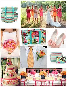 Thirty-One Gifts – Nothing says Happily Ever After like Sunny Stripe and Daisy Craze! Lissa Bensur: www.mythirtyone.com/490267
