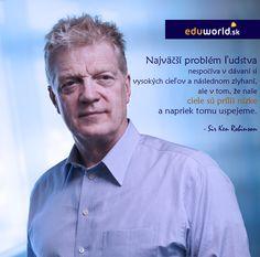 Ken Robinson -citáty - eduworld.sk