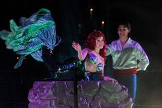 My dream would be to be Ariel in Fantasmic!!