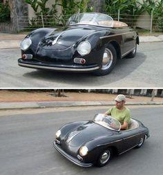 Half-Scale Porsche 356 Looks Like The Perfect Commuter