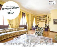 Proponiamo a Roma, zona Flaminio, appartamento di 290mq in signorile palazzo d'epoca, in ottime condizioni interne, posto al terzo piano di 300mq commerciali. In vendita a €1.750.000.