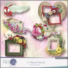 Digital scrapbooking kit PattyB ScrapsHEARTLAND clusters  http://www.godigitalscrapbooking.com/shop/index.php?main_page=product_dnld_info&cPath=29_335&products_id=23124