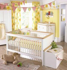 Idea don't put crib on wall