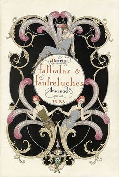 "Georges Barbier ""Falbalas et Fanfreluches"" 1923 