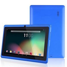 """nice 7 inch Android 4.0 Blue Tablet PC Allwinner A23 Contex A7 Dual Core 1.2Ghz Processor Multi-Touch Screen 800x480 Display Dual Camera 512MB RAM 4GB Internal Memory WiFi  Performance - Processor Mode: Allwinner A23 Contex A7 High Performance Processor- RAM Installed Size: DDR3 512MB- ROM: 4GB- Display Diagonal Size: 7""""""""…"""