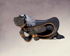 sea manatee superhero | Manatees: X-Men As Manatees