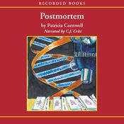 I just finished listening to Postmortem: A Scarpetta Novel (Unabridged) by Patricia Cornwell, narrated by C. J. Critt on my #AudibleApp. https://www.audible.com/pd?asin=B004QYDP7Q&source_code=AFAORWS04241590G4