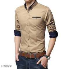 Checkout this latest Shirts Product Name: *Elite Standard Cotton Men's Shirt * Fabric: Cotton Sleeve Length: Long Sleeves Pattern: Solid Multipack: 1 Sizes: S, M, L, XL Country of Origin: India Easy Returns Available In Case Of Any Issue   Catalog Rating: ★4 (3117)  Catalog Name: Elite Standard Cotton Mens Shirts Vol 13 CatalogID_254735 C70-SC1206 Code: 925-1929712-7731