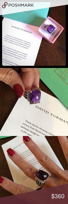Authentic David Yurman Ring size 6 Gorgeous David Yurman 💍 David Yurman Jewelry Rings