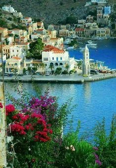 Simi island, Dodecanese, Greece