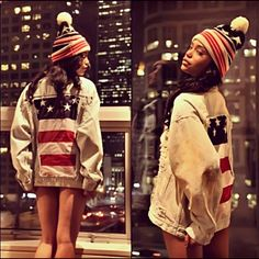 Red , White , Blue , & Trill .