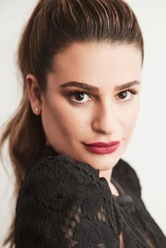 Lea Michele photographed by Maarten de Boer