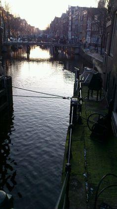 Winter light in Amsterdam
