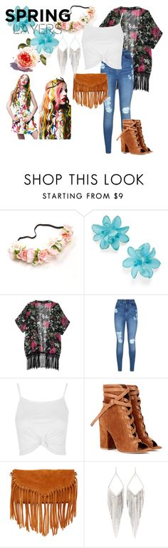 """""""eh"""" by devin-10 on Polyvore featuring Carole, Lipsy, Topshop, Gianvito Rossi, SUSU and Jules Smith"""